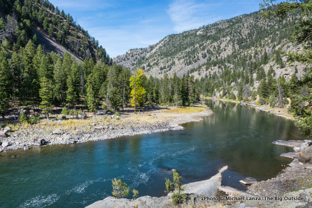 The Black Canyon of the Yellowstone River, Yellowstone National Park.