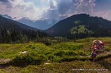 Near Buck Creek Pass.