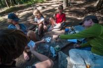 Campsite on Cliff Creek, Sequoia N.P.