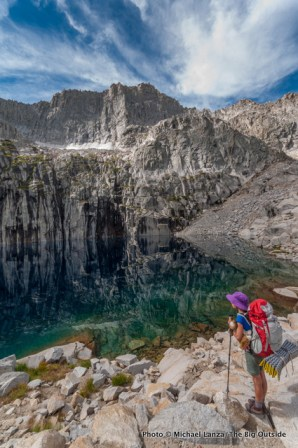 Precipice Lake.