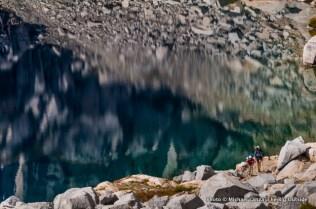 Backpackers, Precipice Lake.