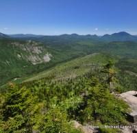 Atop Zeacliff, overlooking the Pemigewasset Wilderness, White Mountains, N.H.