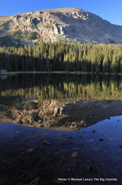 Ouzel Lake, Wild Basin, Rocky Mountain National Park, Colorado.
