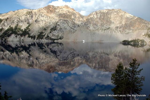 Sawtooth Lake, Sawtooth Mountains, Idaho.