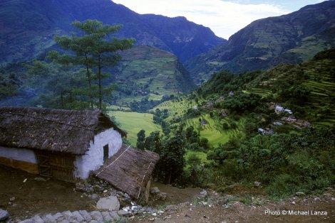 Village of Bahudanda, Annapurna Circuit.