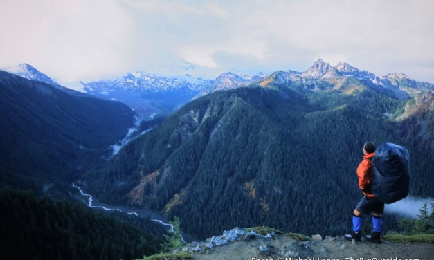 3-Minute Read: Completely Alone on Mount Rainier's Northern Loop