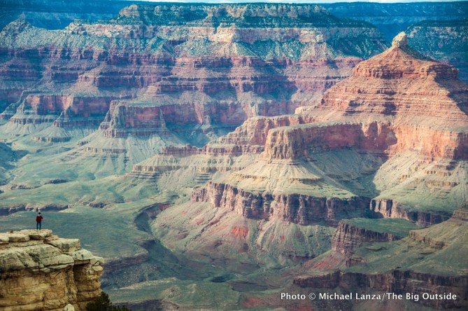 South Rim of the Grand Canyon.