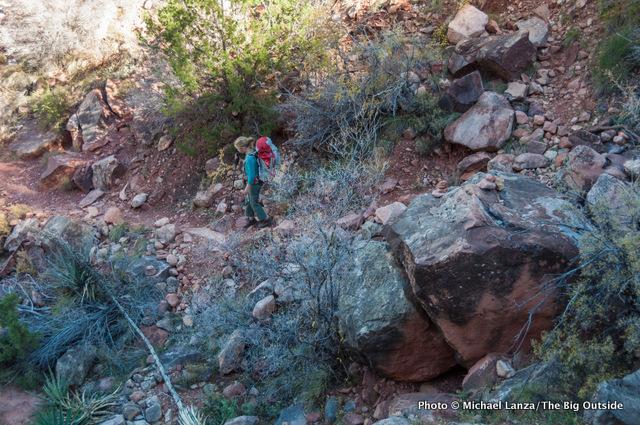 New Hance Trail.