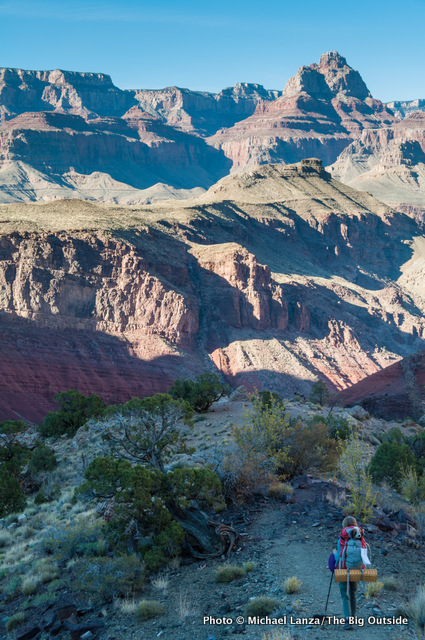 Red Canyon, New Hance Trail, Grand Canyon.