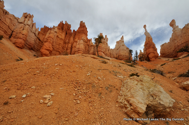Alone the Navajo-Queens Garden loop, Bryce Canyon National Park.