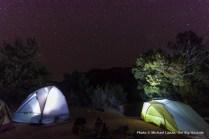 Campsite, Squaw Canyon.
