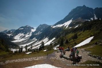 Cascade Pass, North Cascades National Park.