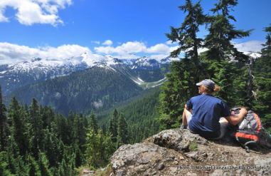 View from Copper Ridge Trail, North Cascades
