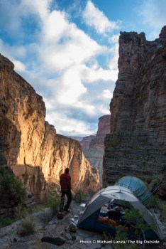 Royal Arch campsite, Grand Canyon.
