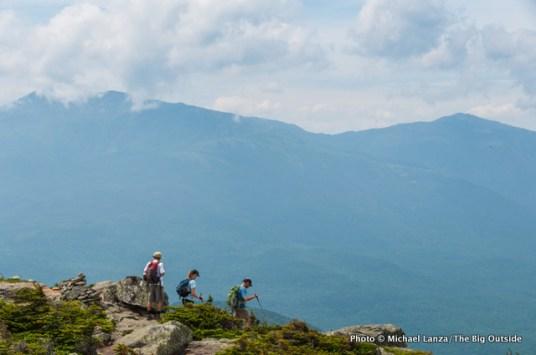 On the summit of Mount Hight.