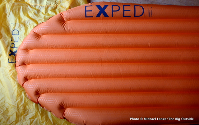 Exped SynMat Hyperlite with Schnozzel Pumpbag UL.
