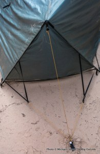 Tarptent Double Moment end struts.