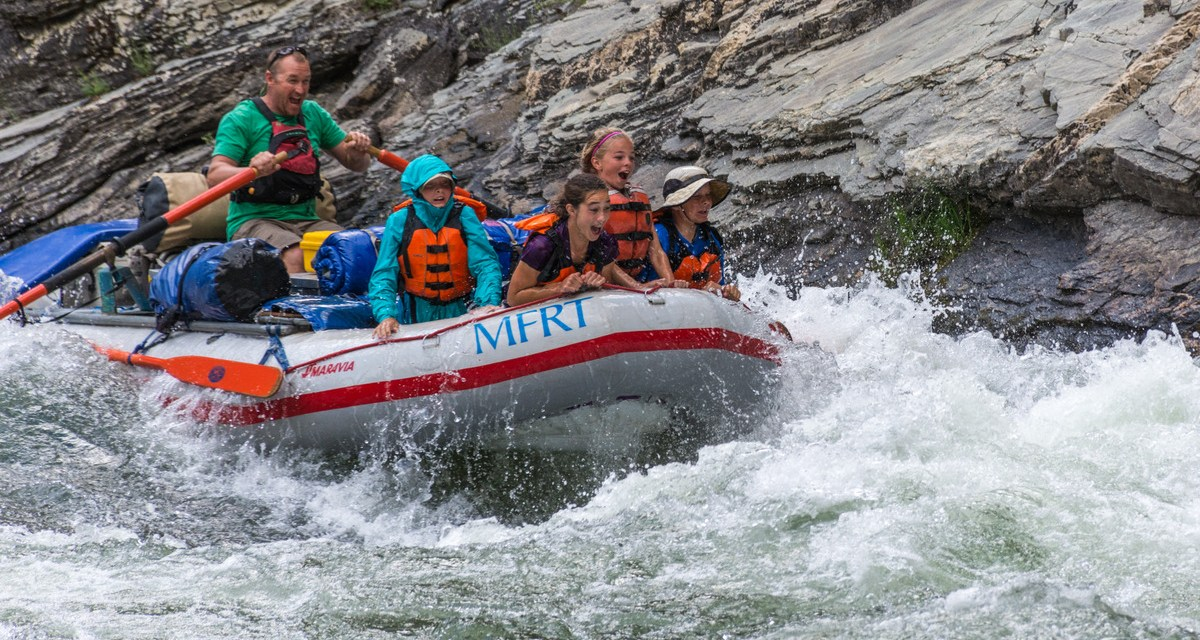 One Photo, One Story: Rafting's Idaho's Wild Middle Fork Salmon River