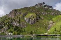 Lago di Fedaia.