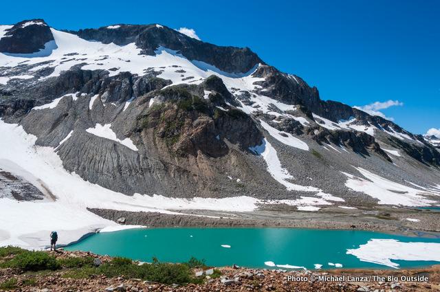 Upper Lyman Lakes, Glacier Peak Wilderness.