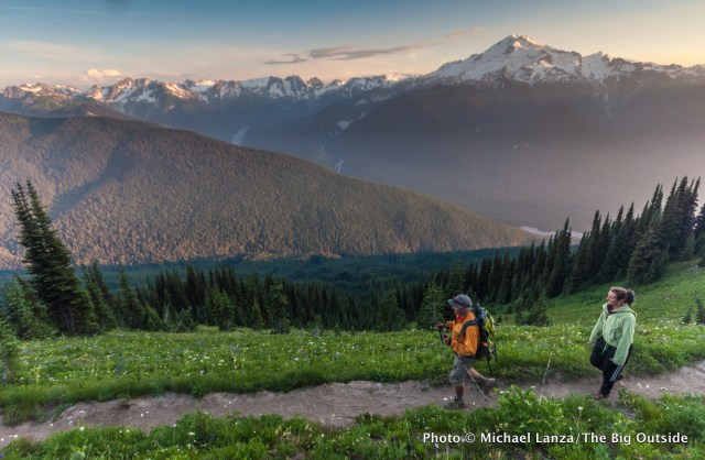 Trail 785 to Image Lake, Glacier Peak Wilderness.