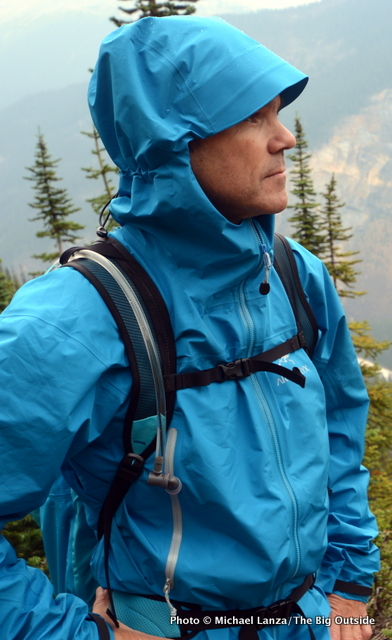 The Arc'teryx Zeta LT Jacket.