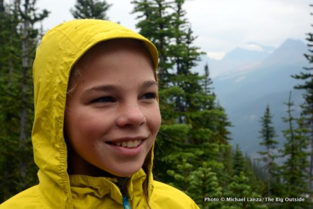 Marmot Girl's PreCip Jacket hood