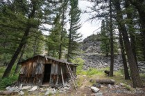 Joe Bump cabin, Middle Fork Salmon River Trail.