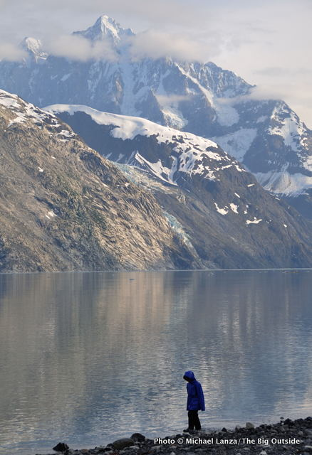 My son, Nate, in Johns Hopkins Inlet, Glacier Bay, Alaska.