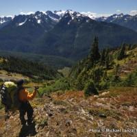 Northern Bailey Range, Olympic Mountains, Olympic National Park.
