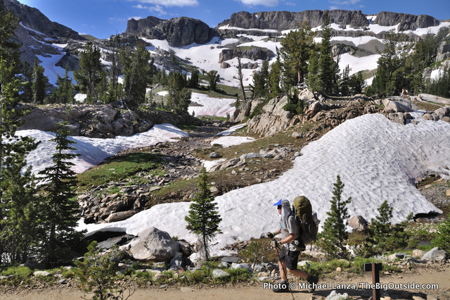 Mike Baron, South Fork Cascade Canyon, Teton Crest Trail, Grand Teton National Park.