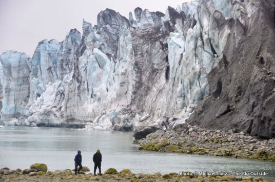 Lamplugh Glacier, Glacier Bay National Park.