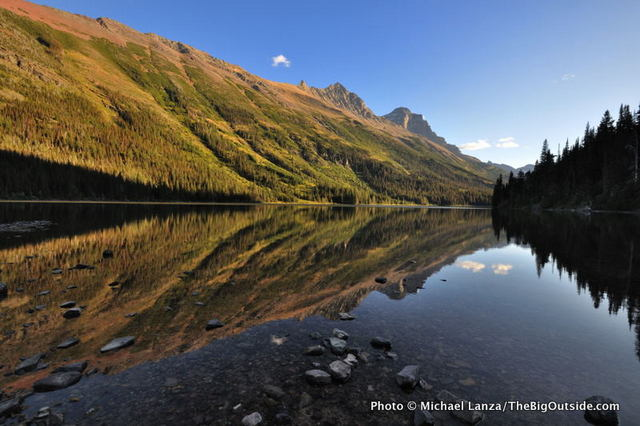 Glenns Lake, Glacier National Park.