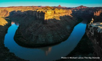 Above the Green River, Canyonlands National Park.