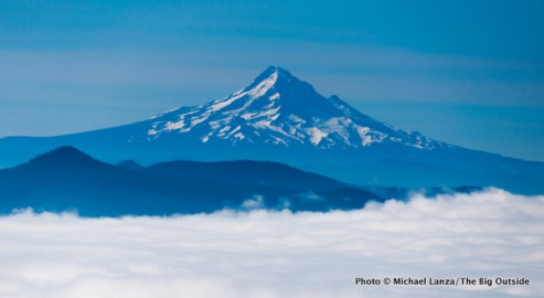 Mount Hood from Monitor Ridge.