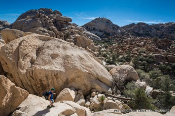 Hiking in the Wonderland of Rocks.