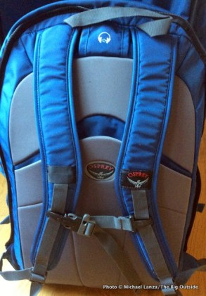 Meridian 75L daypack harness