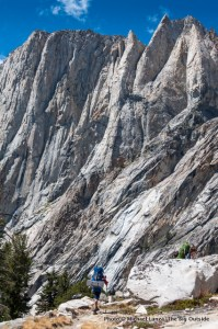 High Sierra Trail in Sequoia National Park.