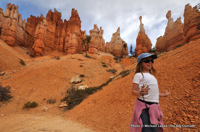 My daughter, Alex, hiking the Navajo-Queens Garden Loop, Bryce Canyon National Park.