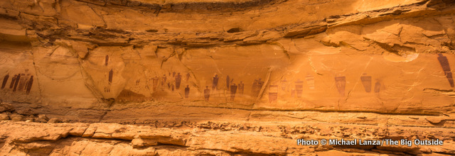 The Great Gallery, Horseshoe Canyon, Canyonlands National Park.