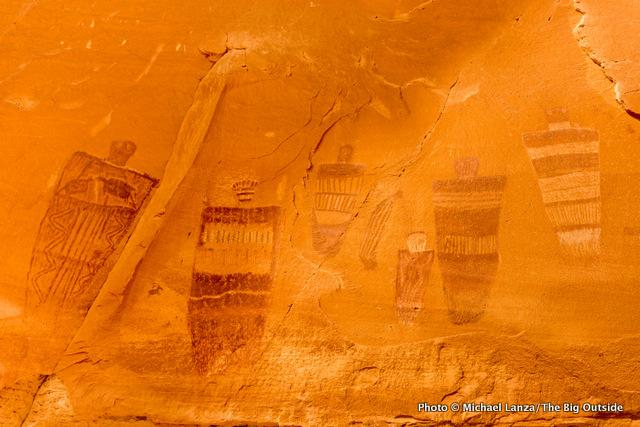 Great Gallery Pictographs Horseshoe Canyon Canyonlands National Park Utah