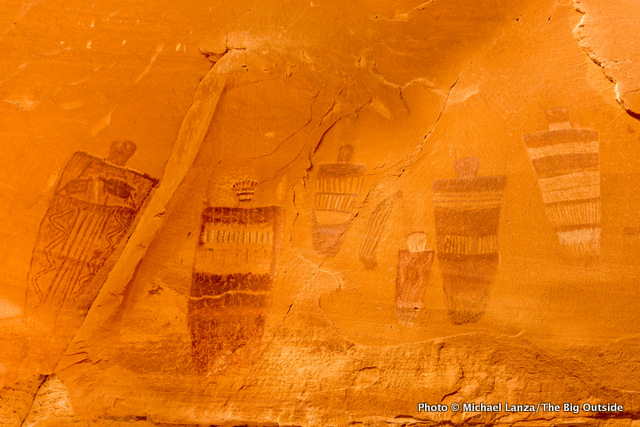 Great Gallery pictographs, Horseshoe Canyon, Canyonlands National Park, Utah.