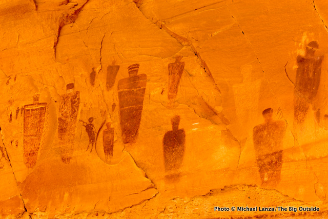 The Great Gallery In Horseshoe Canyon Canyonlands National Park