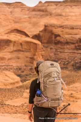 Osprey Aura AG 65 backpack.