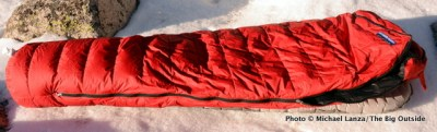 Feathered Friends Snowbunting EX 0 sleeping bag.