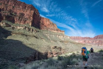Tonto Trail, Royal Arch Loop, Grand Canyon.
