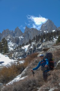 Me below Mount Whitney.