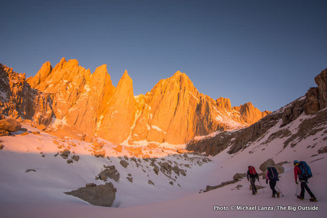 Below the East Face of Mount Whitney.