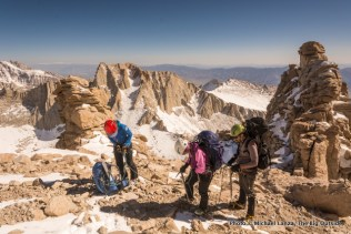 The Notch, Mountaineers Route, Mount Whitney.