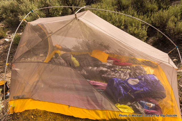 Big Agnes Fly Creek HV UL3 canopy. & Gear Review: Big Agnes Fly Creek HV UL2 mtnGLO and Fly Creek HV ...